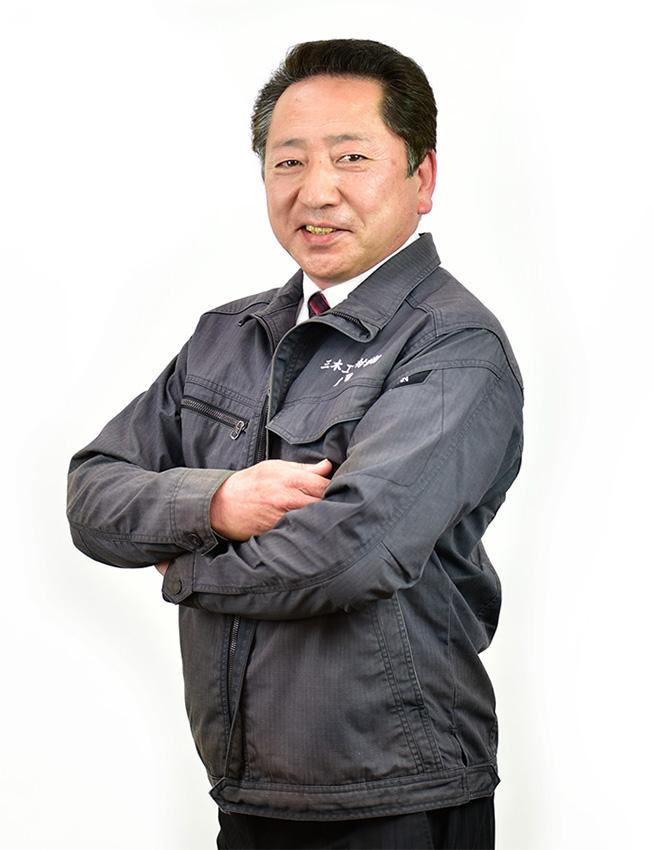 本社営業部 常務取締役 藤田寿信