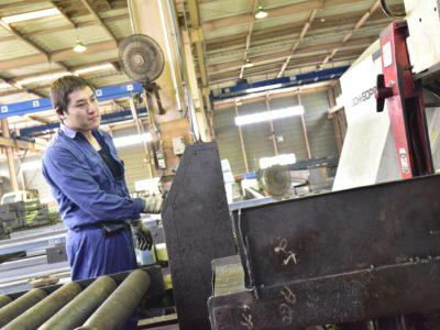 鉄鋼一次加工業務
